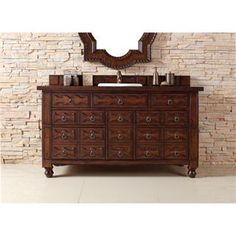 "Check out the James Martin Furniture 160-V60S-ACG-ACG Castilian 60"" Single Vanity in Aged Cognac with Wood Top - Vanity Top Included priced at…"