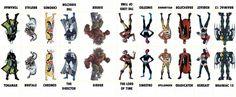 D.C. Villains Character Sheet 013