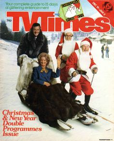 So much more than TV times Christmas Comics, Christmas And New Year, Comedy Tv, Tv Times, Winter Photos, Magazine Covers, Atv, Childhood Memories, Britain