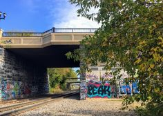 Grafitti on Nicollet Island bridge #nicolletisland
