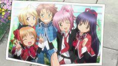 Photograph of Yaya, Tadase, Kukai, Amu, and Nadeshiko