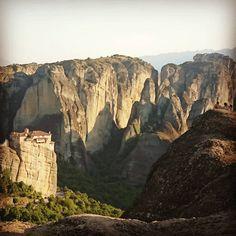 Όμορφη Μετέωρα - Μασσές του Θεού! Meteora - The Inselbergs of God! Greek Memories - Part 10. . . . . . . #adventure #afternoon #august #balkan #europe #ελλαδα🇬🇷 #forest #greece #green #hot #inselberg #kalambaka #medieval #mediterranean #meteora #monastery #monumental #mountains #pindos #sacred #summer #thessaly #θεσσαλικά #travel #trikala #trip #unescosite #valley Colour Yellow, Color Theory, Mount Rushmore, Mountains, Nature, Inspiration, Travel, Biblical Inspiration, Naturaleza
