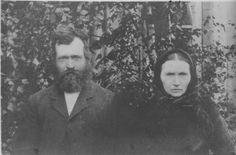 My great grandparents, Anna Eiriksdotter, Mydland and Tønnes Gyland. Parents of Lisa Andrea Gyland