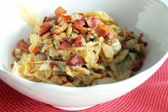 Smothered Cabbage with Bacon Cajun Week Day 3! - Creole Contessa