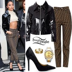 Little Mix leaving the BBC Radio 2 studios in London. Fashion Poses, Fashion Outfits, Celebrity Piercings, Trendy Outfits, Fall Outfits, Lily Collins Style, Hairspray Live, Little Mix Style, Vetement Fashion