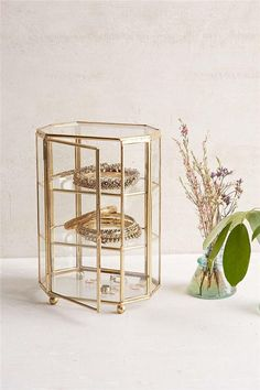 Multifunction Hexahedron Three layers jewelry display terrariums,glass table decoration terrarium we Jewellery Storage, Jewellery Display, Jewelry Organization, Terrarium Wedding, Layered Jewelry, Glass Boxes, Wedding Boxes, Room Accessories, Display Boxes