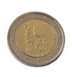 2 EURO COMMEMORATIVE COIN ESTONIA 2018 - ESTONIA 100 YEARS EV100