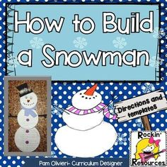 how to build a snowman writing and craft Argumentative Writing, Paragraph Writing, Narrative Writing, Informational Writing, Persuasive Writing, Informative Writing, Nonfiction, Work On Writing, Middle School Writing