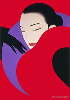 Red & Purple & Black - Noevier by Ichiro Tsuruta.