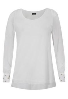 Blusa Spike Off-White - Pop Touch - Compre em: http://batecabeca.com.br/blusa-spike-off-white-pop-touch-dafiti.html