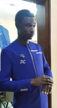 African Wear Styles For Men, African Shirts For Men, African Dresses Men, Ankara Styles For Men, African Attire For Men, African Clothing For Men, Latest African Fashion Dresses, African Print Fashion, Costume Africain