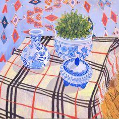Vessels in Blue | Anna Valdez