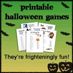 Halloween Games for School Parties