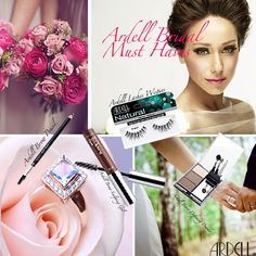 Bridal Essentials:  1. Ardell Brow Pencil (Duo Pencil)  2. Ardell Brow Styling Gel  3. Ardell Lashes, Wispies  4. Ardell Brow Defining Powder  #Ardell #ArdellLashes #Ardellista #BridalMakeup #Bride #WeddingMakeup #Wedding #BrideMustHaves #MustHaves