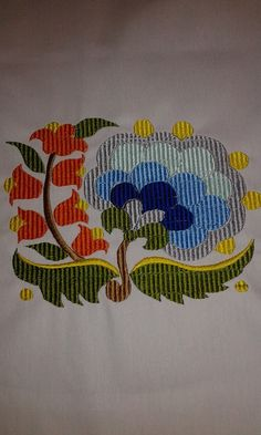 Embroidery Stitches, Embroidery Patterns, Hand Embroidery, Machine Embroidery, Textiles, Bargello, Cross Stitch Flowers, Beading Patterns, Handicraft