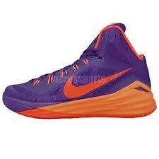 Purple and Orange Nike Hyperdunk