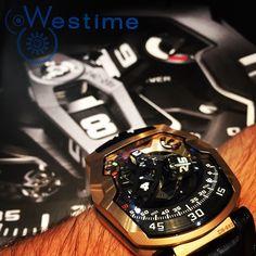 UR-210 RG, URWERK by westimewatches