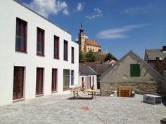 family house, Donnerskirchen, design by Klaus-Jürgen Bauer Architekten, 2012 (building site) Kirchen, My Design, Spaces, Architects