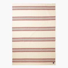 Cabin Wool Blanket - Natural - Blankets