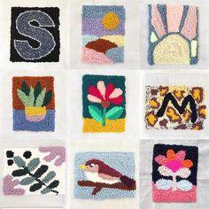 Eva Verbruggen - Textileartist (@hetateliervanevav) • Instagram-foto's en -video's Punch Needle, Kids Rugs, Blanket, Crochet, Instagram, Home Decor, Crochet Hooks, Blankets, Decoration Home