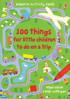 100 Things to Do on a Trip -- this could be helpful on our upcoming airplane ride!