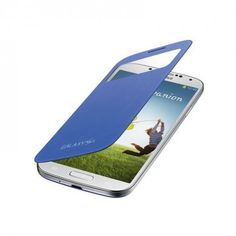 Funda S-View Cover Galaxy S4 - Rigel Blue