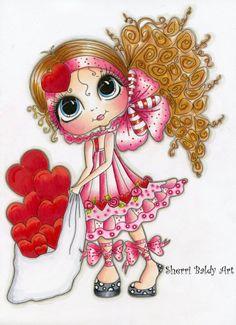 My-Besties Valentine Fine Art Print-