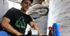 'Pago faculdade com o que ganho vendendo lixo', diz catador no Piauí