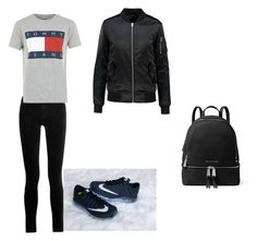 """❤️"" by yasminael on Polyvore featuring mode, J Brand, MICHAEL Michael Kors en Tommy Hilfiger"