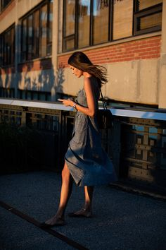 On the Street….7:30pm, Highline, New York City (from The Sartorialist) See more at http://www.thesartorialist.com/?p=63120
