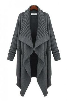 Leisure long-sleeved thickening in long sweater