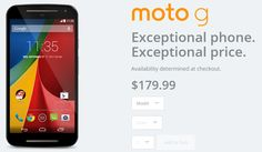 Looking for best Android smartphone in low price segment - Look for Motorola Moto G, 2014 for $179.