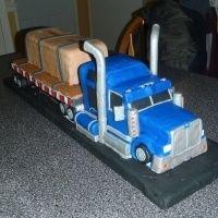 Truck tartas-cakes