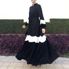 Daisy Abaya Dress  Black