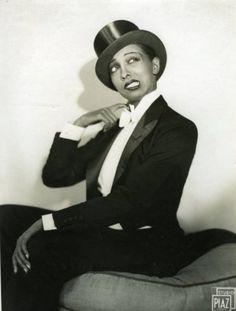 blackhistoryalbum:  Top Hat  Tails ……..Josephine Baker, 1920s Black History Album, The Way We WereFollow us on WEB TUMBLR PINTEREST FACEBOOK TWITTER
