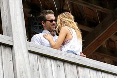 Blake Lively and Ryan Reynolds Spotted  the Day After Their Wedding. Sweet ..