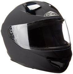 Zox Thunder R2 Full Face Motorcycle Helmet (Matte Black, Small). Size: Small. Style: STREET FULL FACE ADULT HELMET. Color: MATTE BLACK. Warranty: All ZOX helmets carry a 1-year warranty from date of purchase against all manufacturing defects. See manufacturer site for full details.