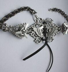 beautiful, beautiful steampunk necklace