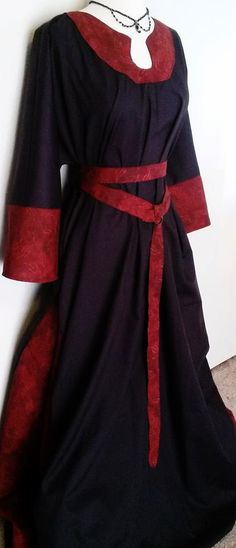 Custom Merchant Dress and Ring Belt by ChickenVicious on Etsy