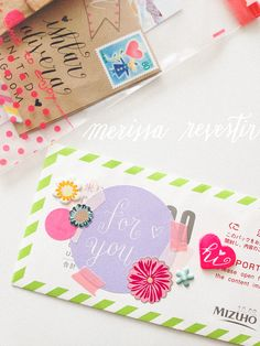 MERISSA CHERIE: {Happy Mail Project} No. 2