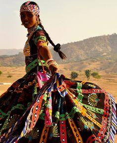Kalbelia Gypsy dancing girl . Pushkar | Repinned by Moeloco Flip Flop | Buy one, change a life | www.moeloco.com