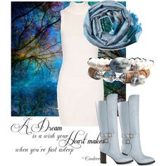"""""""Winter Dreaming"""" by bluestoneriver on Polyvore"""