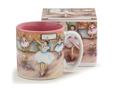 Ballet Dance Coffee Mug with Gift Box | Top Dance Recital Gifts for Dancers