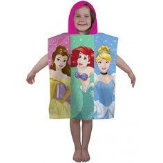 Poncho de bain Princesses