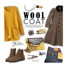 """""""Cold Weather Essentials: Wool Coat"""" by mada-malureanu ❤ liked on Polyvore featuring Ralph Lauren, True Religion, Marni, Garance Doré, Sara Happ, Imju Fiberwig, See by Chloé, Sheinside, woolcoat and shein"""