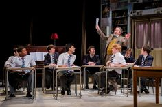 Modern classic ~ History Boys captivates the Yvonne Arnaud audience. Jamie Parker, Samuel Barnett, Movies For Boys, Preppy Boys, Theatre Reviews, History Teachers, Stage Set, Young Actors