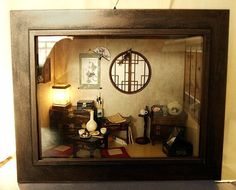 dollhouse oriental room miniatures