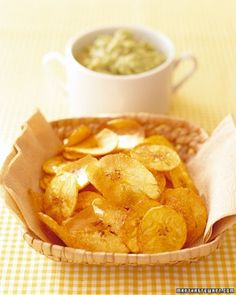 "See the ""Banana Avocado Dip with Plantain Chips"" in our  gallery"