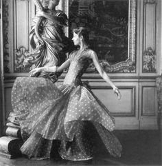 Dorian Leigh, 1940s.