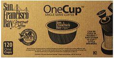 San Francisco Bay OneCup, Breakfast Blend, 120 Single Serve Coffees San Francisco Bay Coffee http://www.amazon.com/dp/B00FRU1KVQ/ref=cm_sw_r_pi_dp_ErRQub16E5M16